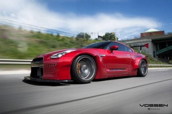 Nissan GT-R в обвесе