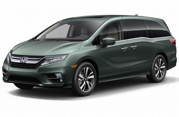 Хонда Одиссей 2017–2018