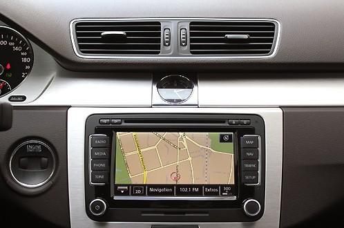 VW Passat В7 Медиасистема