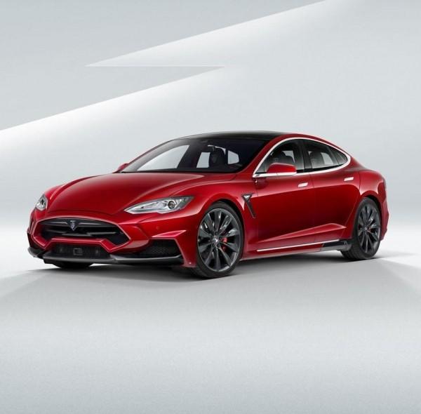 Tesla Model S в тюнинге от LARTE Design