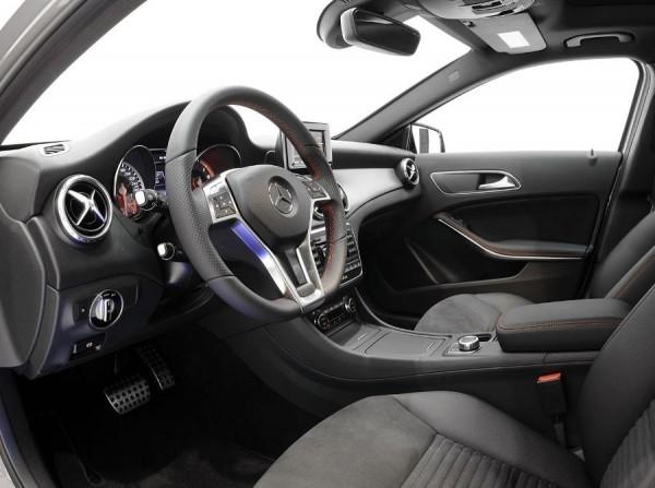 Mercedes GLA 2014 от Brabus фото салона