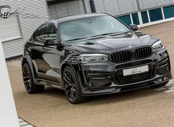 Тюнинг BMW X6 2015 от Lumma Design