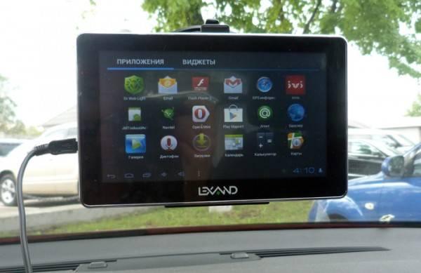 Обзор навигаторов Lexand