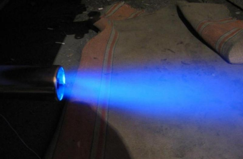 Подсветка насадки на глушитель Ваз