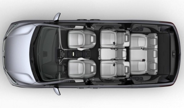 Хонда Одиссей 2017–2018 салон
