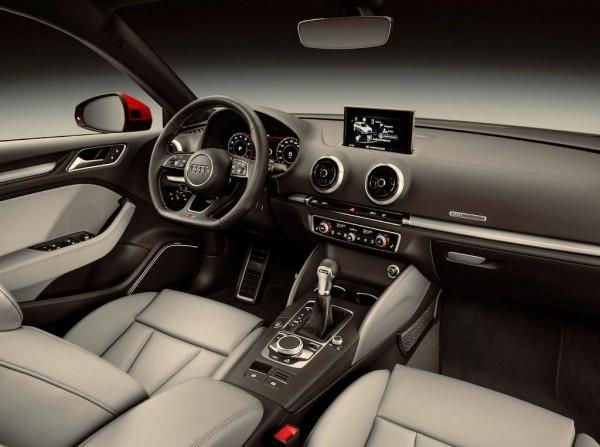 Audi A3 2016–2017 фото салона