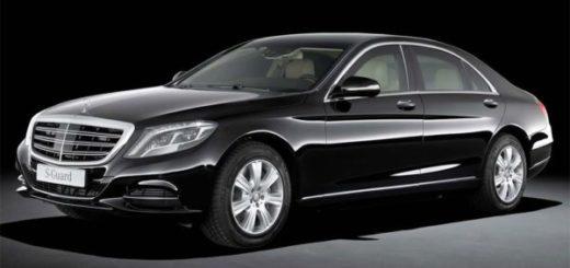седан S-класса от Mercedes-Benz