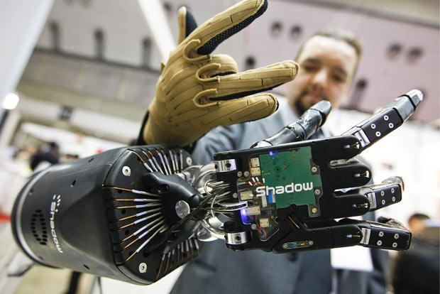 активное развитие робототехники