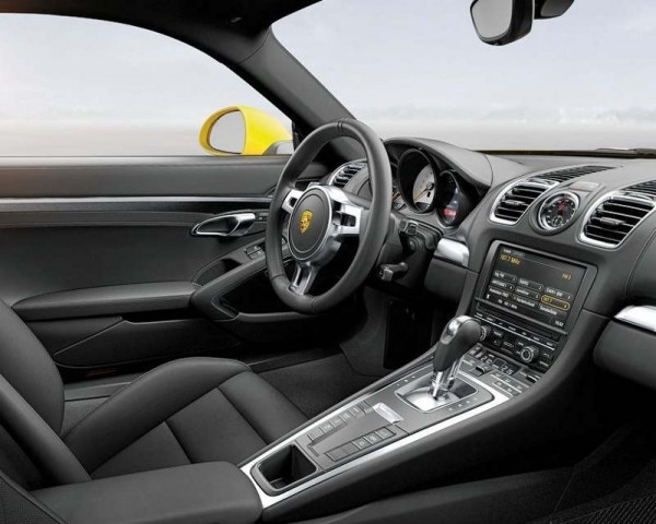 Porsche Cayman салон
