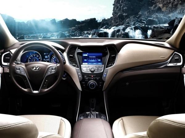 Hyundai Santa Fe фото салона