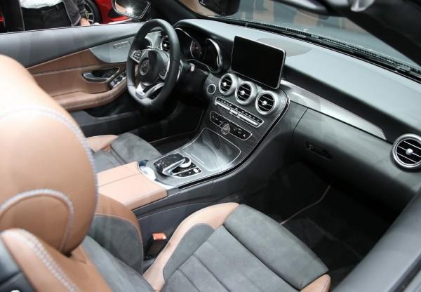 Mercedes C-Class 2016 в кузове кабриолет фото салона