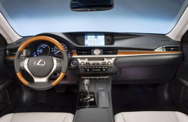 Lexus ES 2013 Фото салона
