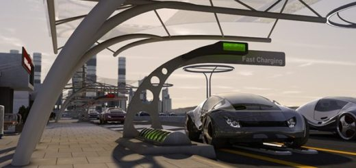 электромобили с беспроводной подзарядки