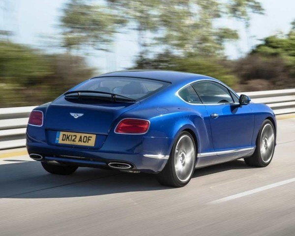 Bentley Continental GT Speed Фото сбоку