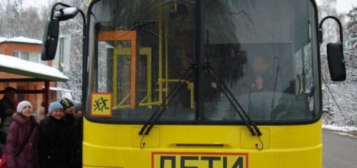 перевозка детей в автобусах