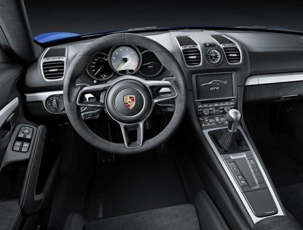 Porsche Cayman GT4 фото салона