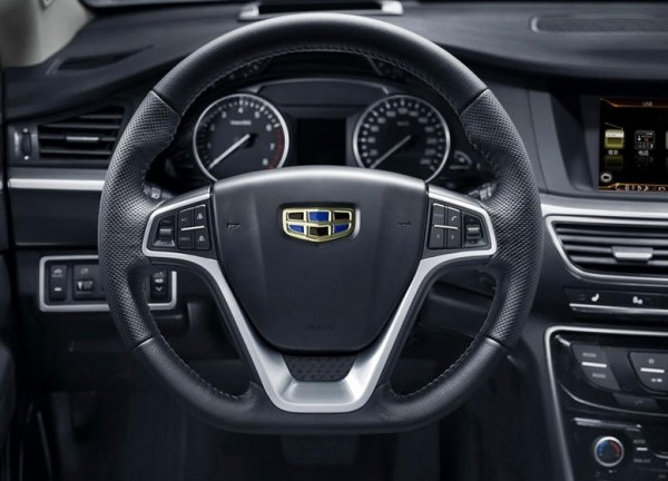 Geely GC9 фото салона