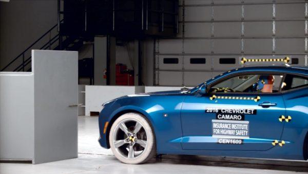 Краш-тест Chevrolet Camaro