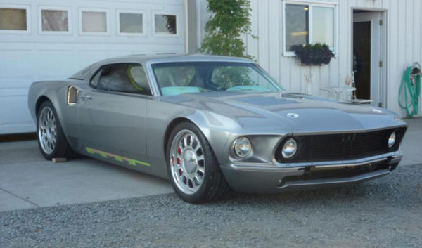 гибрид Ford Mustang и GT40