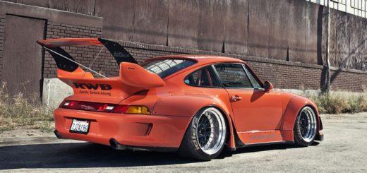 редкий Porsche 911