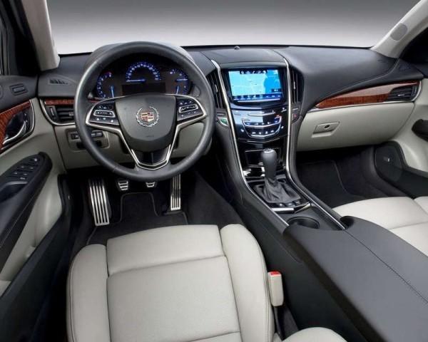 Cadillac ATS 2013 фото салона