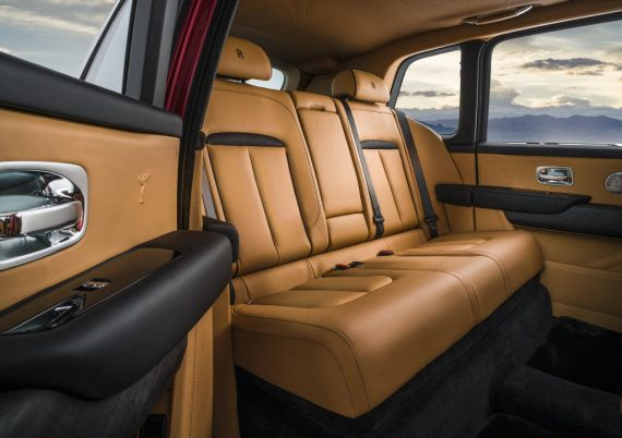 Rolls-Royce Cullinan фото салона