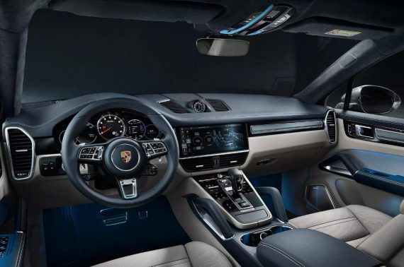 Porsche Cayenne Coupe фото салона