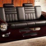 коллекция мебели в автомобильном стиле