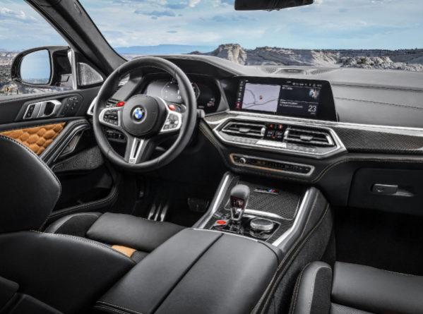 BMW X5 M фото салона