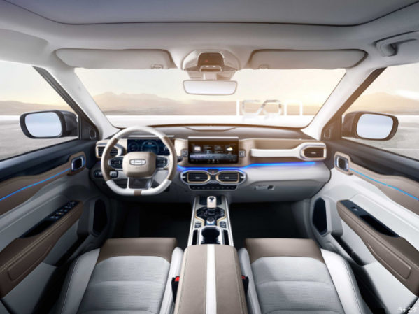 Geely Icon 2020 фото салона