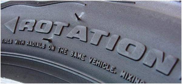 надпись Rotation